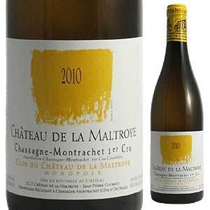 【6本~送料無料】シャサーニュ モンラッシェ クロ デュ シャトー ブラン 2018 シャトー ド ラ マルトロワ 750ml [白]Chassagne-Montrachet Clos Du Chateau De La Maltroye Blanc Chateau De La Maltroye