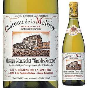 【6本~送料無料】シャサーニュ モンラッシェ レ グランド リュショット 2016 シャトー ド ラ マルトロワ 750ml [白]Chassagne-Montrachet Grandes Ruchottes Blanc Chateau De La Maltroye