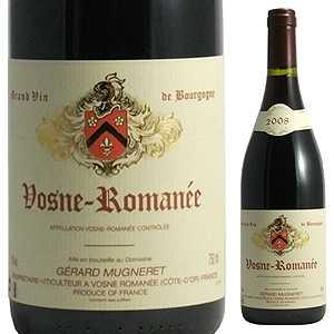 【6本~送料無料】ヴォーヌ ロマネ 2014 ドメーヌ ジェラール ミュニュレ 750ml [赤]Vosne-Romanee Domaine Gerard-Mugneret