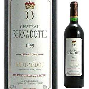 【6本~送料無料】[8月21日(金)以降発送予定]シャトー ベルナドット 2000 750ml [赤]Chateau Bernadotte