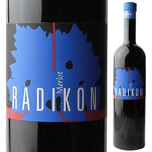 【6本~送料無料】メルロー 2004 ラディコン 500ml [赤]Merlot Radikon [自然派][無添加]