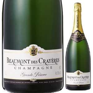 【送料無料】シャンパーニュ グランド レゼルヴ ブリュット NV ボーモン デ クレイエール 3000ml [発泡白]Champagne Grande Reserve Brut Beaumont Des Crayeres[同梱不可]