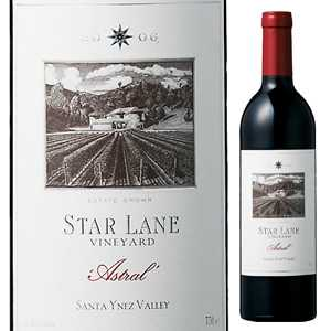 【6本~送料無料】アストラル 2010 スターレーン ヴィンヤード 750ml [赤]Astral Star Lane Vineyard