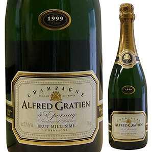 【6本~送料無料】[ギフトボックス入り]シャンパーニュ ブリュット ミレジメ 2005 アルフレッド グラシアン 750ml [発泡白]Champagne Brut Millesime Alfred Gratien