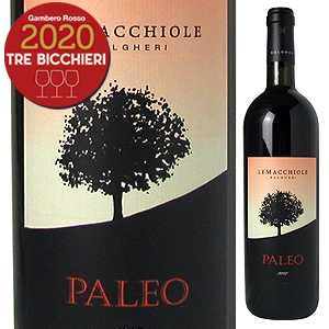 【6本~送料無料】パレオ ロッソ 2015 レ マッキオーレ 750ml [赤]Paleo Rosso Azienda Agricola Le Macchiole