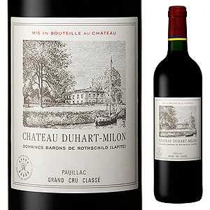 【6本~送料無料】シャトー デュアール ミロン ロートシルト 2016 750ml [赤]Chateau Duhart-Milon-Rothschild