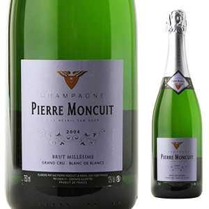 【6本~送料無料】シャンパーニュ ブリュット ブラン ドゥ ブラン グランクリュ キュヴェ ミレジメ 2006 ピエール モンキュイ 750ml [発泡白]Champagne Brut Blanc De Blancs Grand Cru Cuv e Millesim e Pierre Moncuit (Rm)