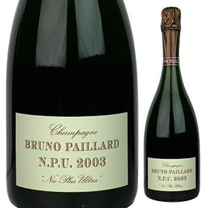 【送料無料】ネック プリュ ウルトラ 2002 ブルーノ パイヤール 750ml [発泡白]Nec Plus Ultra Bruno Paillard