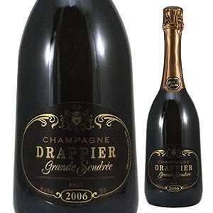 【6本~送料無料】[ギフトボックス入り]グラン サンドレ 2009 ドラピエ 750ml [発泡白]Grande Sendree Drappier