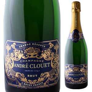 【6本~送料無料】シャンパーニュ グランド レゼルヴ ブリュット NV アンドレ クルエ 1500ml [発泡白] [マグナム・大容量]Champagne Grande Reserve Brut Andre Clouet