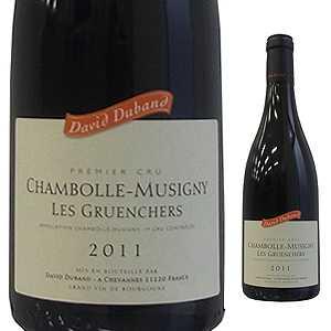 【6本~送料無料】シャンボール ミュジニー プルミエ クリュ レ グリュアンシェ 2015 ドメーヌ ダヴィド デュバン 750ml [赤]Chambolle-Musigny 1er Cru Les Gruenchers Domaine David Duband