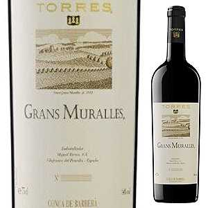 【6本~送料無料】グラン ムラーリェス 2010 トーレス 750ml [赤]Grans Muralles Torres