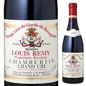 【送料無料】シャンベルタン グランクリュ 1995 ドメーヌ ルイ レミー 750ml [赤]Chambertin Domaine Louis Remy