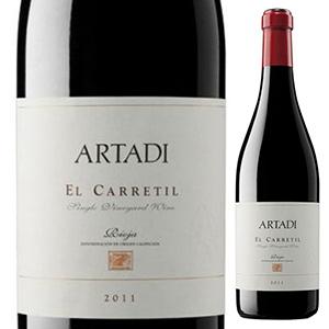 【6本~送料無料】エル カレティル 2012 アルタディ 750ml [赤]El Carretil Artadi
