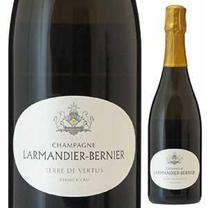 【6本~送料無料】シャンパーニュ テール ド ヴェルテュ ノン ドゼ プルミエ クリュ 2013 ラルマンディエ ベルニエ 750ml [発泡白]Champagne Terre De Vertus Non-Dos 1er Cru Larmandier Bernier
