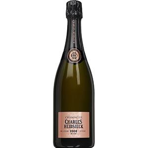 【6本~送料無料】ロゼ ヴィンテージ 2006 シャンパーニュ シャルル エドシック 750ml [発泡ロゼ]Rose Vintage Champagne Charles Heidsieck