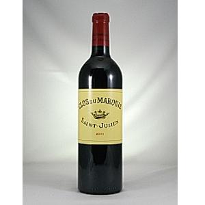 【6本~送料無料】クロ デュ マルキ 2011 (シャトー レオヴィル ラス カーズ) 750ml [赤]Clos Du Marquis Chateau Leoville Las Cases