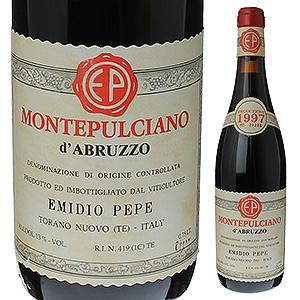【送料無料】モンテプルチアーノ ダブルッツォ 1997 エミディオ ペペ 750ml [赤]Montepulciano d'Abruzzo Emidio Pepe [オールドヴィンテージ ]