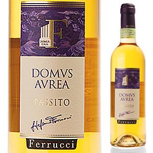 【6本~送料無料】ドムス アウレア 2011 ステファノ フェッルッチ 500ml [甘口白]Domus Aurea Stefano Ferrucci