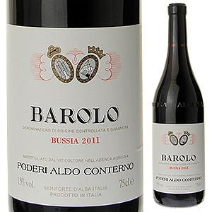 【6本~送料無料】バローロ ブッシア 2014 アルド コンテルノ 750ml [赤]Barolo Bussia Poderi Aldo Conterno