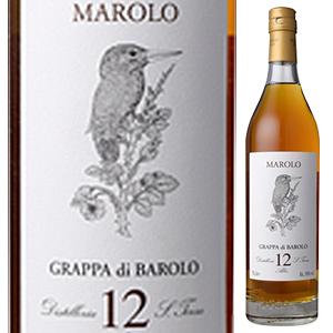 【6本~送料無料】グラッパ ディ バローロ12年 NV マローロ 700ml [グラッパ]Grappa di Barolo 12Year Marolo