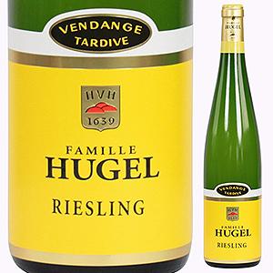 【6本~送料無料】リースリング ヴァンダンジュ タルディヴ 2009 ファミーユ ヒューゲル 750ml [甘口白]Riesling Vendange Tardive Famille Hugel