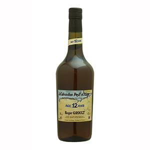 【6本~送料無料】カルヴァドス ペイ ドージュ ロジェ グルー 12年 NV 700ml [カルヴァドス]Calvados Pays d'Auge Roger Groult 12 Ans d'Age Roger Groult