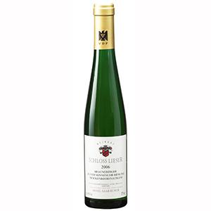 【送料無料】 [375ml]ブラウネベルガー ユッファー ゾンネンウーア トロッケンベーレンアウスレーゼ 2006 シュロス リーザー [ハーフボトル][甘口白]Brauneberger Juffer-Sonnenuhr Trockenbeernauslese Schloss Lieser