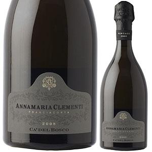【6本~送料無料】フランチャコルタ キュヴェ アンナマリア クレメンティ 2008 カ デル ボスコ 750ml [発泡白]Franciacorta Cuvee Annamaria Clementi Ca' Del Bosco