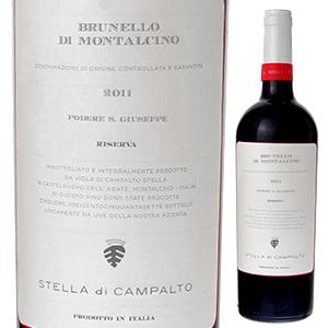 【6本~送料無料】ブルネッロ ディ モンタルチーノ リゼルヴァ 2011 サン ジュゼッペ 750ml [赤]Brunello Di Montalcino Riserva San Giuseppe [ブルネロ]