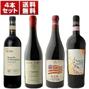 【送料無料】サルデーニャ、シチリア、トスカーナ、カンパーニャの自然派ワインを満喫!超希少パーネ ヴィーノも入った「ヴィナイオータ」大人気生産者4本セット【北海道・沖縄・離島は追加送料がかかります】