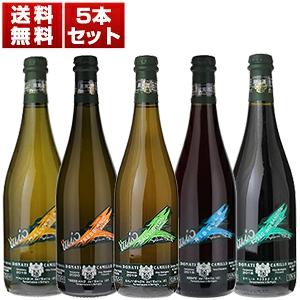 【送料無料】伝統的瓶内二次発酵にこだわる自然派「カミッロ ドナーティ」5本セット【北海道・沖縄・離島は追加送料がかかります】 [自然派]