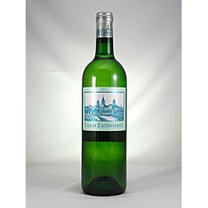 【6本~送料無料】シャトー コス デストゥルネル ブラン 2011 750ml [白]Chateau Cos D'estournel Blanc
