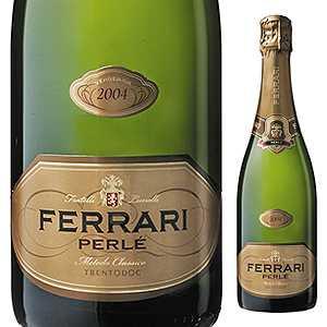【6本~送料無料】[8月19日(水)以降発送予定]ペルレ ミレジム 2004 フェッラーリ 750ml [発泡白]Perle Millesime Ferrari [オールドヴィンテージ ][蔵出し]
