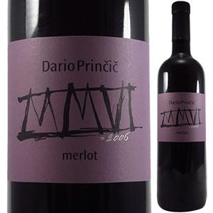 【6本~送料無料】メルロー ヴェネツィア ジューリア 2007 ダリオ プリンチッチ 750ml [赤]Merlot Dario Princic