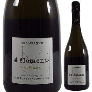 【6本~送料無料】キャトル エレマン ピノ ノワール 2013 ユレ フレール 750ml [発泡白]4 Elements Pinot Noir Hure Freres