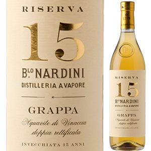 【6本~送料無料】グラッパ リゼルヴァ 15年 NV ナルディーニ 700ml [グラッパ]Grappa Riserva 15 Years Nardini