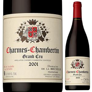 【送料無料】シャルム シャンベルタン 2001 ドメーヌ ド ラ ブリュネル 750ml [赤]Domaine De La Brunelle Charme Chambertin Domaine De La Brunelle