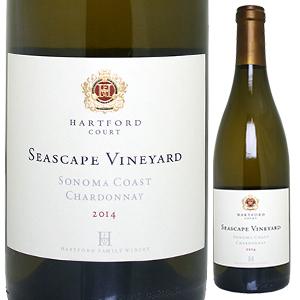 【6本~送料無料】ハートフォード コート シースケープ シャルドネ 2014 ハートフォード ファミリー ワイナリー 750ml [白]Hartford Court Seascape Chardonnay Hartford Family Winery