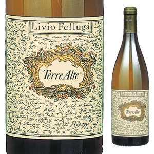 【6本~送料無料】テッレ アルテ 2016 リヴィオ フェッルーガ 750ml [白]Terre Alte Livio Felluga