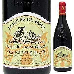 【6本~送料無料】シャトーヌフ デュ パプ ラ キュヴェ デュ パペ 2003 クロ デュ モン オリヴェ 750ml [赤]Chateauneuf-Du-Pape La Cuv e Du Papet Clos Du Mont Olivet