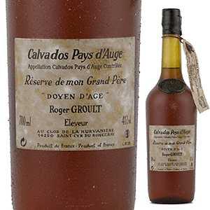 【送料無料】カルヴァドス ペイ ドージュ ロジェ グルー ドイヤン ダージュ NV 700ml [カルヴァドス]Calvados Pays D'auge Roger Groult Doyen Age