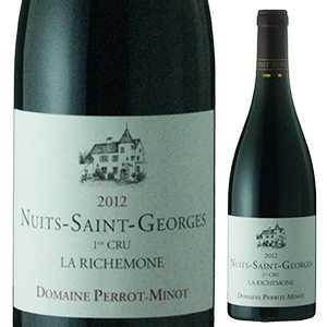 【送料無料】ニュイ サン ジョルジュ プルミエ クリュ ラ リシュモーヌ V.V. 2013 ドメーヌ ペロ ミノ 750ml [赤]Nuits-Saint-Georges 1er Cru La Richemone Vieilles Vignes Domaine Perrot-Minot