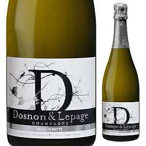 【6本~送料無料】シャンパーニュ レコルト ブリュット NV ドノン エ ルパージュ 750ml [発泡白]Champagne Recolte Brut Dosnon & Lepage