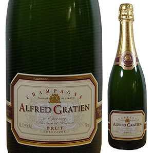 【6本~送料無料】[木箱入り]シャンパーニュ ブリュット NV アルフレッド グラシアン 1500ml [発泡白] [マグナム・大容量]Champagne Brut Alfred Gratien