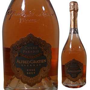 【送料無料】[ギフトボックス入り]シャンパーニュ キュヴェ パラディ ブリュット ロゼ NV アルフレッド グラシアン 750ml [発泡ロゼ]Champagne Cuvee Paradis Brut Rose Alfred Gratien