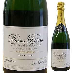 【6本~送料無料】シャンパーニュ キュヴェ ド レゼルヴ ブラン ド ブラン グラン クリュ NV ピエール ペテルス 1500ml [発泡白] [マグナム・大容量]Champagne Cuvee De Reserve Blanc De Blancs Grand Cru Pierre Peters