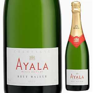 【6本~送料無料】[ギフトボックス入り]シャンパーニュ ブリュット マジュール NV アヤラ 1500ml [発泡白] [マグナム・大容量]Champagne Brut Majeur Ayala