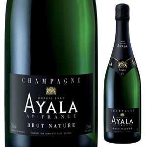 【6本~送料無料】シャンパーニュ ブリュット ナチュール NV アヤラ 750ml [発泡白]Champagne Brut Nature Ayala