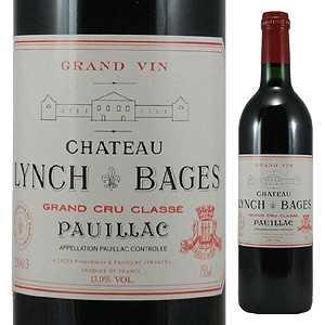 【6本~送料無料】シャトー ランシュ バージュ 2013 750ml [赤]Chateau Lynch-Bages